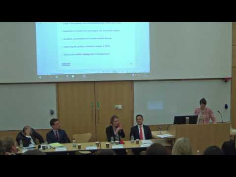 Cambridge Arbitration Day 2017: Panel 3: Question and Answer Session & Closing Remarks