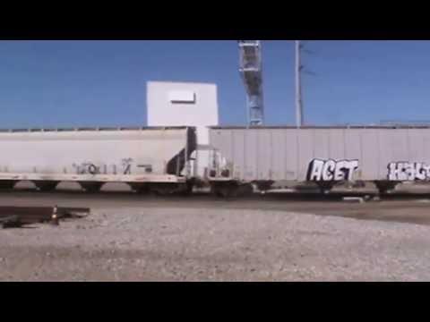 BNSF General Freight Tulsa, OK 9/18/16 vid 3 of 8