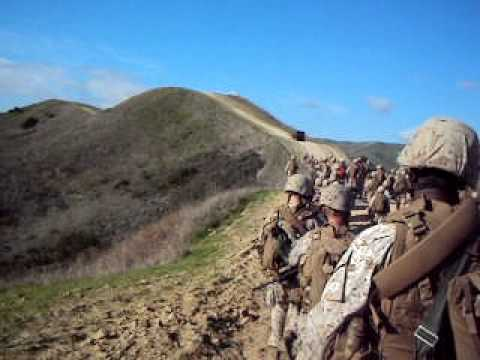 usmc birthday hike - YouTube