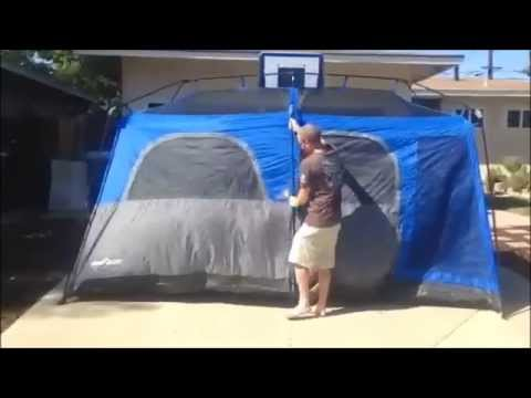 9 Person C& Valley Instant Set Up Tents & 9 Person Camp Valley Instant Set Up Tents - YouTube