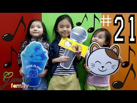 KARAOKE SINGING Manekineko (IF2) INDOOR FUN ADVENTURE Jay Chou SONGS Funny KIDS #21 Genesis Family +