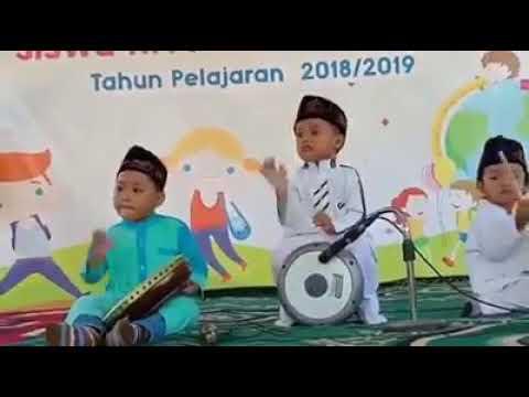 Anak Tk Sholawat Hadroh Lucu Banget Keren