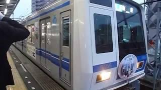 西武池袋線6000系(東京富士大学広告車)準急 小手指駅発車
