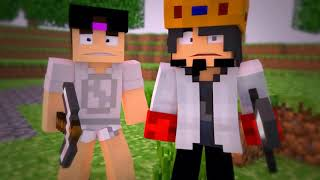 Minecraft Animacao : INTRO MINECRAFT O FILME! A GUERRA