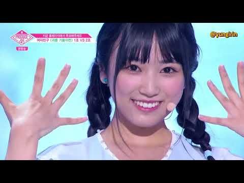 [ENG] Produce 48 Ep 3 - Love Whisper Team 2 + Results