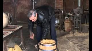 Pravljenje drvenog bureta za rakiju i vino - Mala Krsna