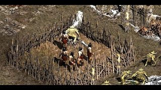 Diablo 2 / Хардкорное прохождение / Спасение войнов 19ч
