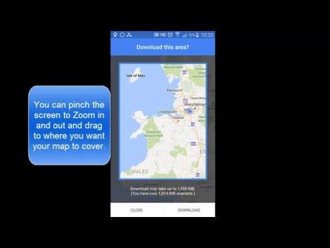 Google Maps - Offline Navigation