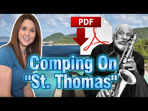 "Comping On Sonny Rollins' ""St. Thomas"""