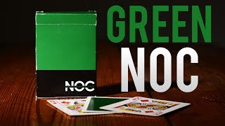 Deck Review - Noc Playing Cards Green -  House of Playing Cards