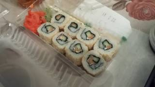 Рейд по доставкам суши в Хабаровске