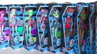 Swim Class Waves 1,2 & 3 Complete Collection - Monster High