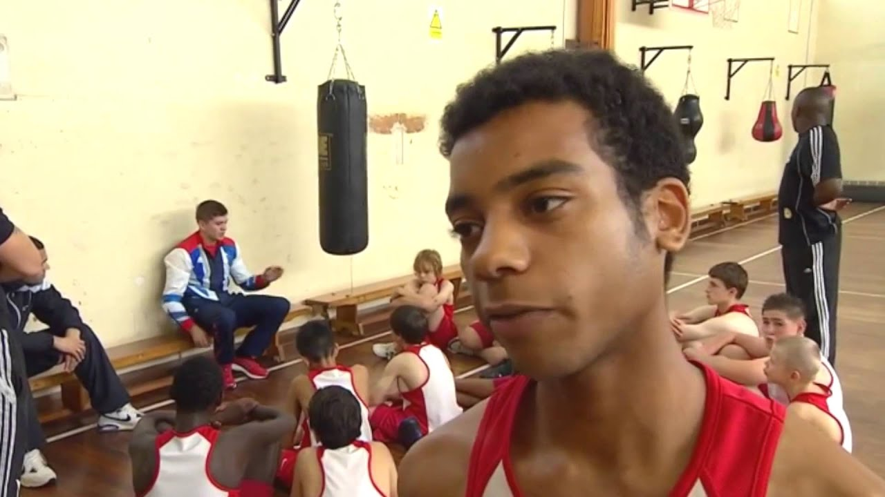 Olympic Boxing Gold Medallist, Luke Campbell, visits Leicestershire