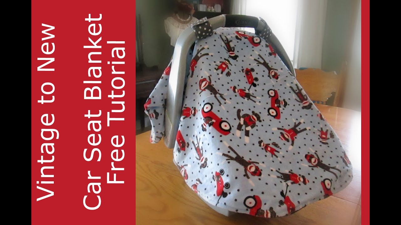 Baby Car Seat Cover Blanket Youtube