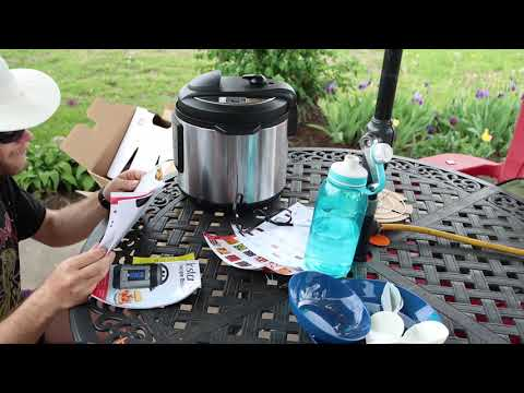 Unboxing and testing the Instant Pot® Lux 6-in-1 Programmable Pressure Cooker
