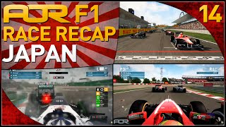 F1 2013 | AOR F1: S8 Round 14 - Japanese Grand Prix (Official Race Recap)