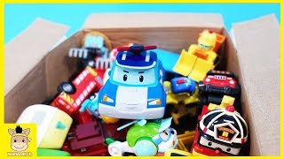 Car Toys SuperWings Open the box with Robocar Poli Unboxing play Toys Learn Colors | MariAndKids