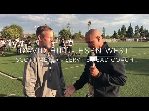 Coach Scott Meyer Servite HS Playoff Interview - LIVE HIGH SCHOOL FOOTBALL BROADCAST & LIVE STREAM