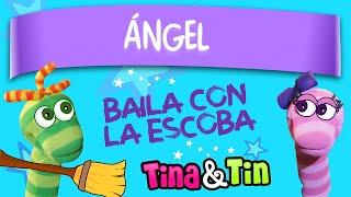 tina y tin + angel