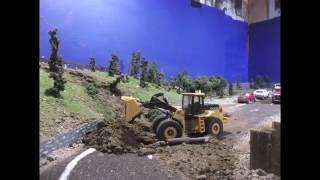 Landslide Diorama Stop motion