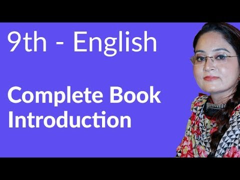 9th Class English, Complete book Introduction - Matric part 1 English