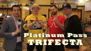 Platinum Passes for All: Joey Ingram, Arlie Shaban, Jeremy Hilsercop