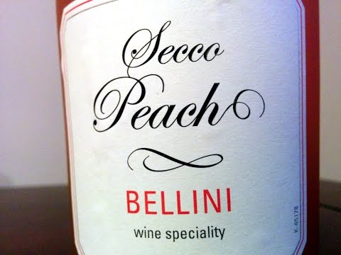 Trader Joe's Secco Peach Bellini Tasting & Review