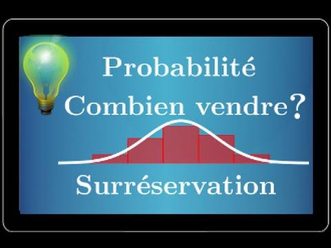 Moivre-Laplace - Combien vendre de place en surréservation - exercice DIFFICILE type BAC