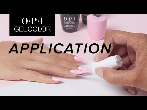 OPI GelColor Tutorial | Application