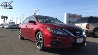 2018 Nissan Altima SR 2.5 L 4-Cylinder Review