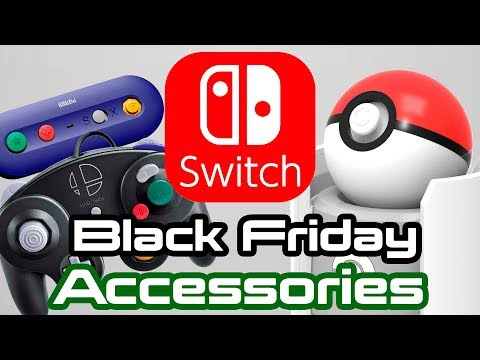 Nintendo Switch Black Friday Deals and New Accessories!