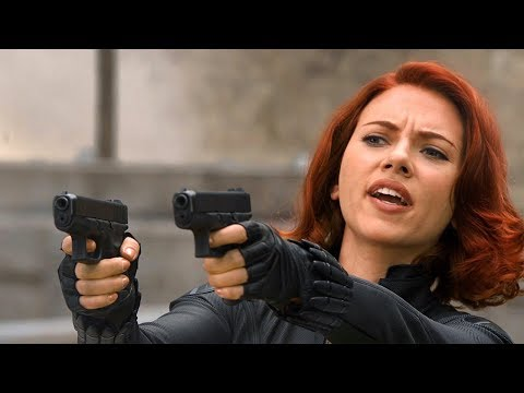 """""""Just Like Budapest All Over Again!"""" Black Widow & Hawkeye - The Avengers (2012) Movie Clip HD"""