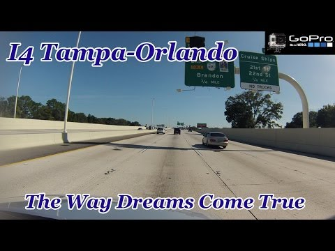 Time Lapse Drive | I4 | Tampa - Orlando | GoPro HD