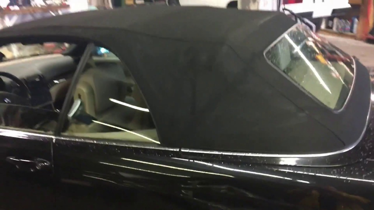 bmw e46 convertible soft top not working fix