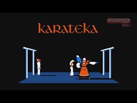 Karateka (Apple II) - Video Game Years 1984