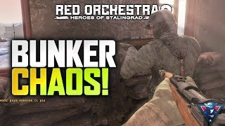 BUNKER CHAOS! | Red Orchestra 2 Gameplay