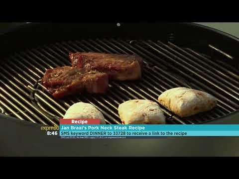 Jan Braai's Pork Neck Steak Recipe