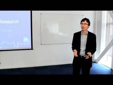 Postgraduate Research Planning Workshop - Case Study Dr John Chandler