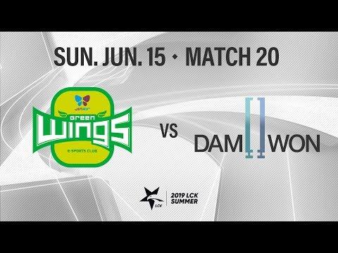 진에어 vs 담원 | Match20 H/L 06.16 | 2019 LCK 서머