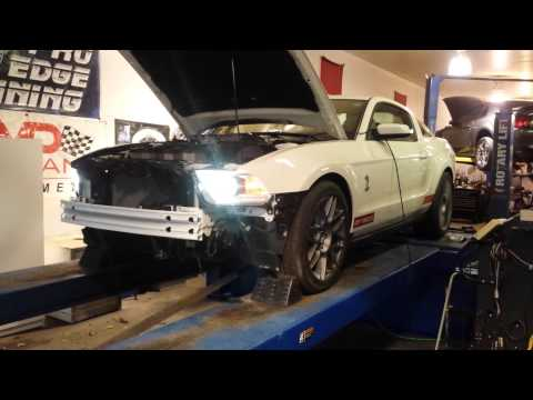 2011 Shelby GT500 Ported Blower dyno