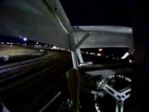Wingless Sprint Car Silver Dollar Speedway In Car Camera