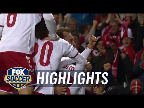 Ireland vs. Denmark | 2017 World Cup Qualifying Highlights