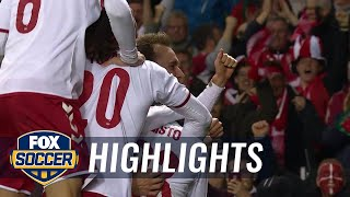 Ireland vs. Denmark | 2017 World Cup Qualifying Highlights