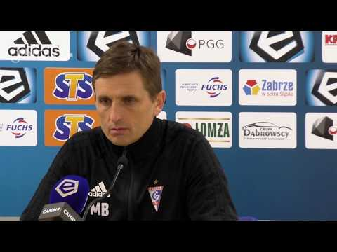 Górnik Zabrze 2-0 Wisła Kraków. Konferencja prasowa: Marcin Brosz (11-02-2019)
