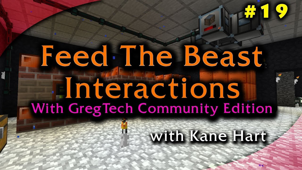 FTB: Interactions - Part 19 - Questing Knocking and Nether Dungeon