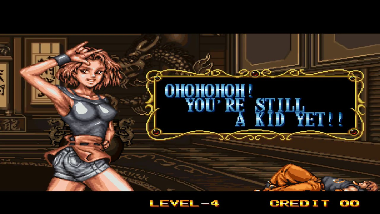 Double Dragon (Neo Geo) - Marian Combo