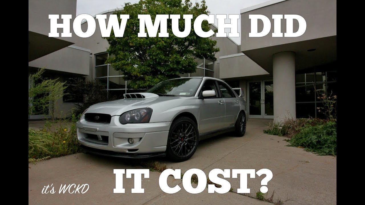 How Much Does It Cost To Rebuild An Engine >> What Does It Cost To Rebuild A Car 2004 Wrx
