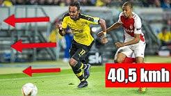 Die 5 schnellsten Spieler der Bundesliga !
