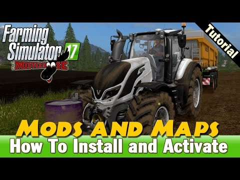 Farming Simulator 17 | How To Install Mods and Maps