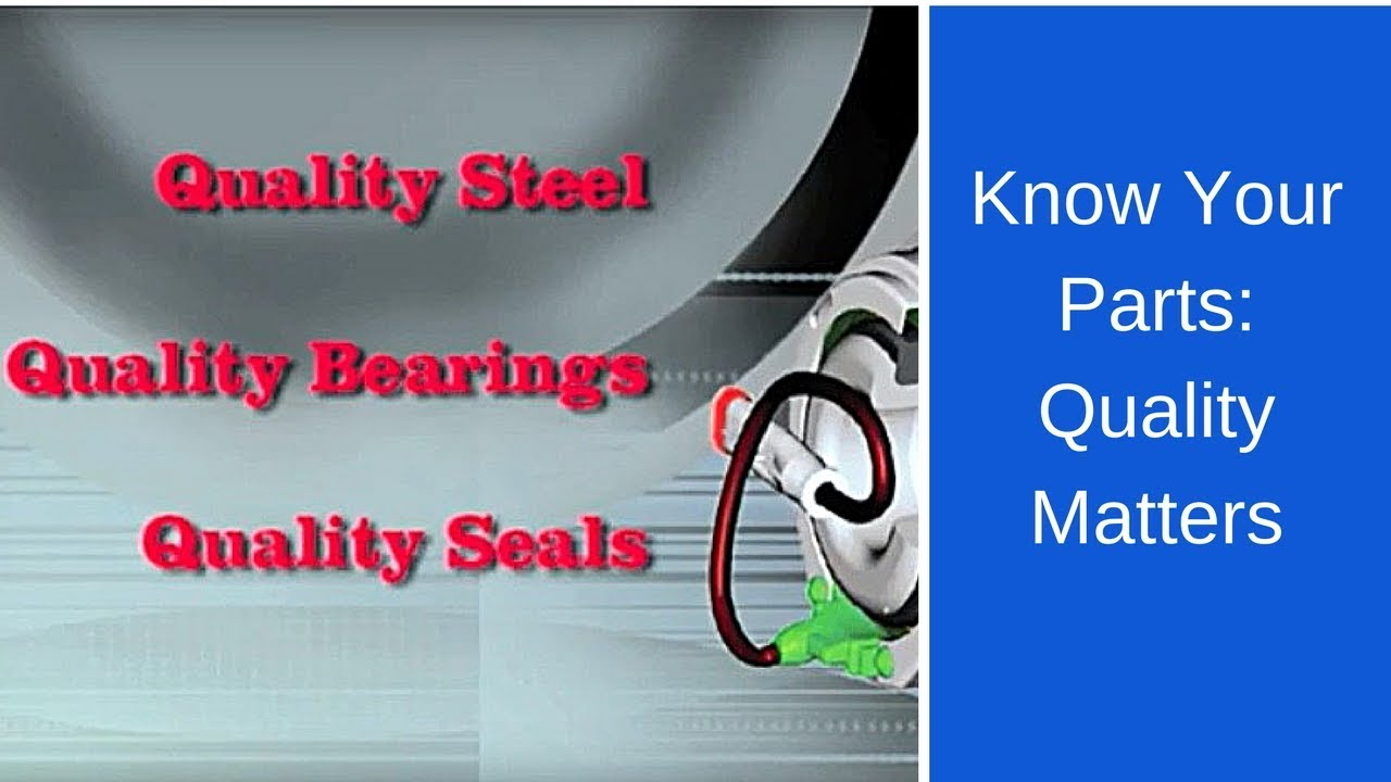 Know Your Parts: SKF Quality vs  Low Quality Hubs